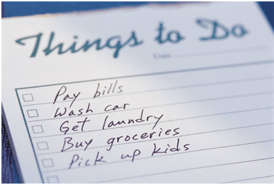 the infamous to do list